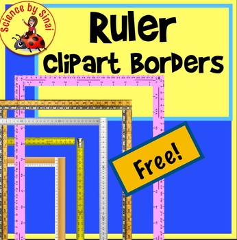 FREE RULER BORDERS Page Border Clipart Measurement by.