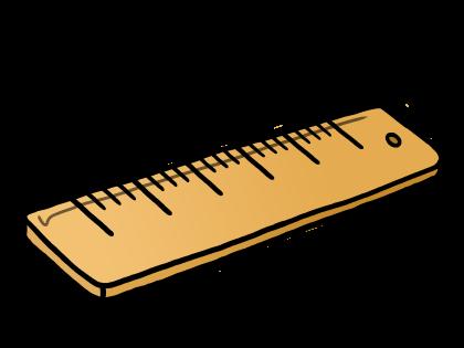 Ruler Cartoon Clipart.