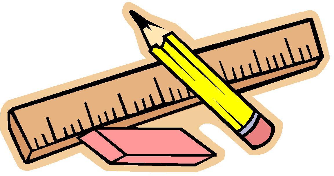 Teacher with ruler clipart.