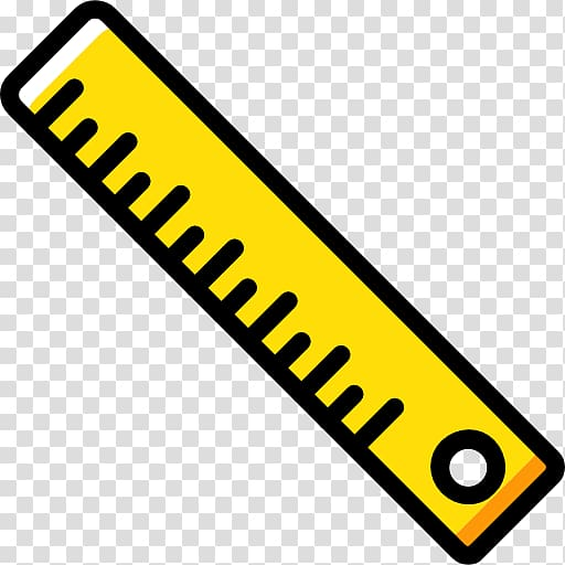 Ruler Computer Icons, yellow ruler transparent background.
