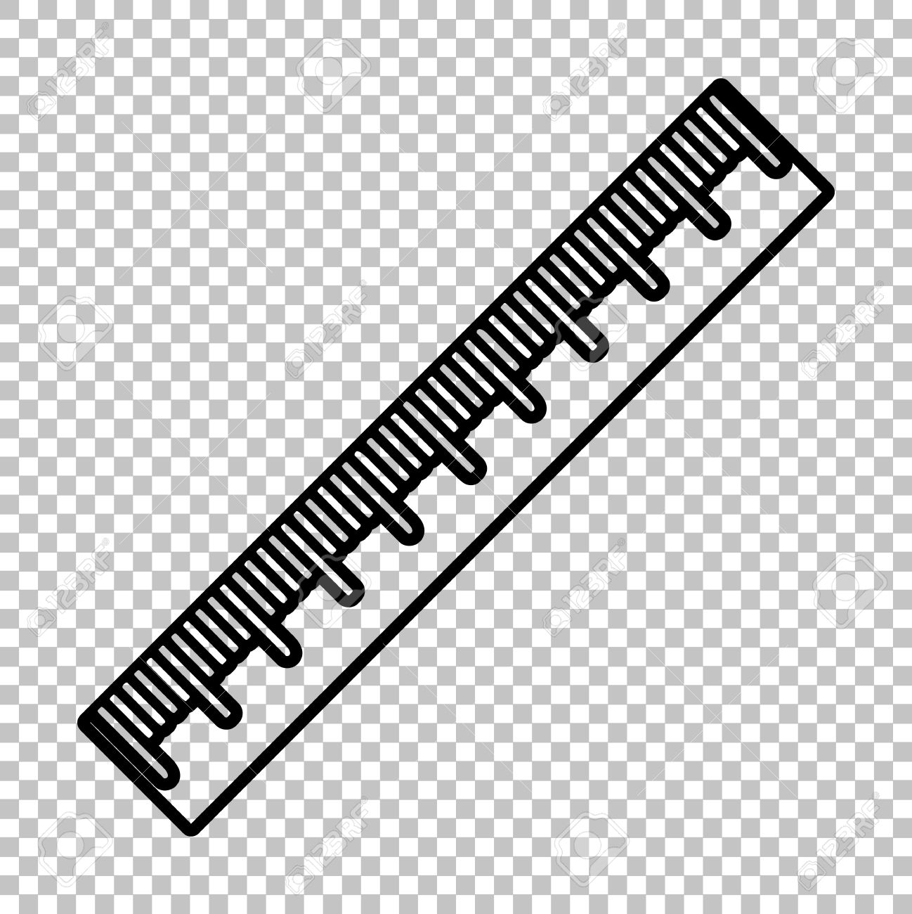 1653 Ruler free clipart.