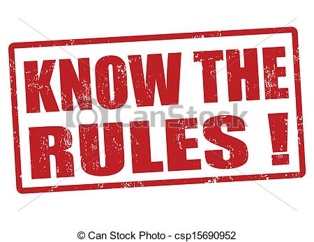 Community Rules Clipart.