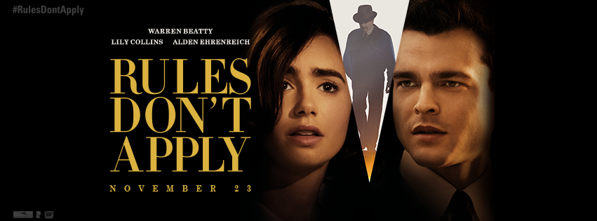 AFI Fest 2016: Rules Don't Apply (Movie Review) at Why So Blu?.
