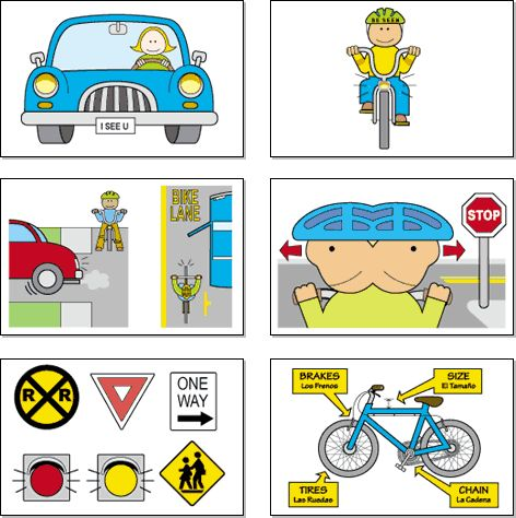 Rules of the road clipart #9