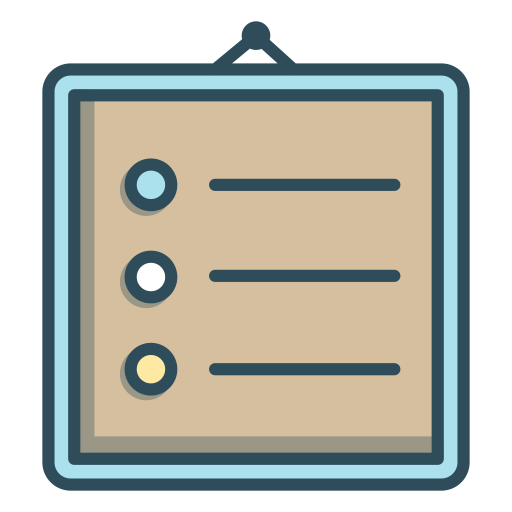 Rules Icon.