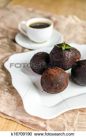 Stock Photography of Rum balls k16709190.