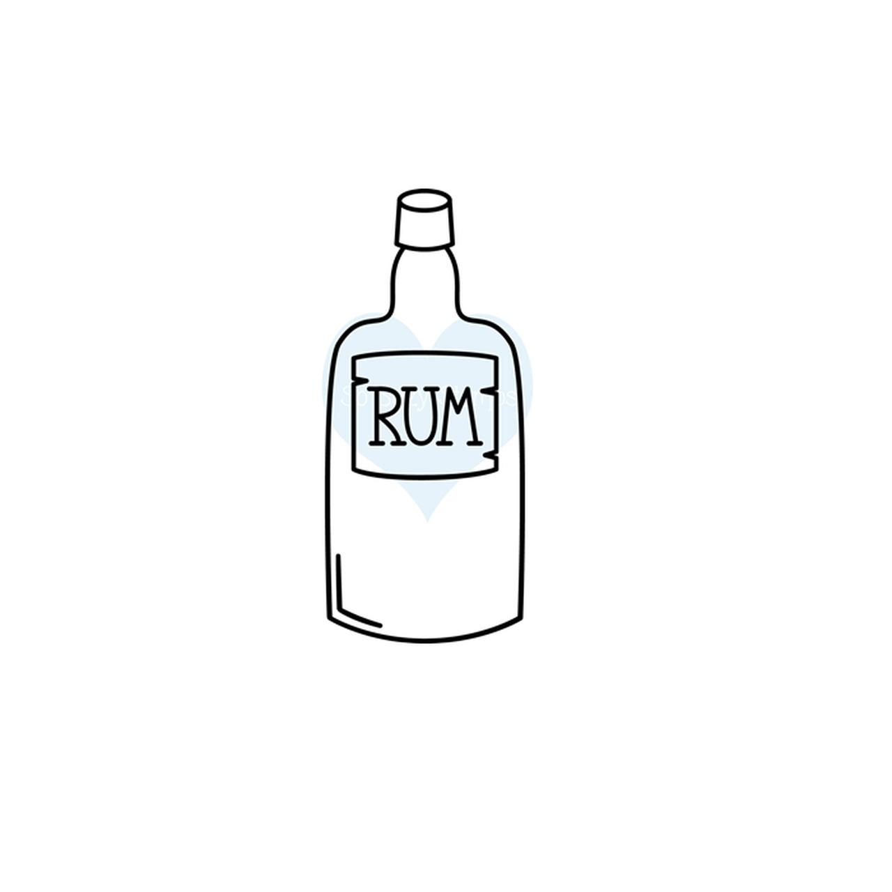 Pirate\'s Rum Bottle.
