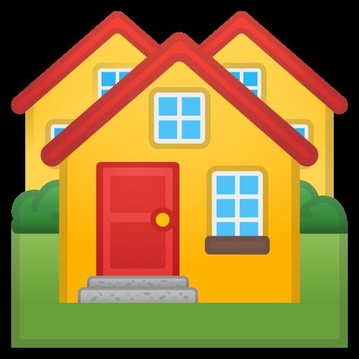 Rumah Ikon Gratis dari Noto Emoji Travel & Places Icons.