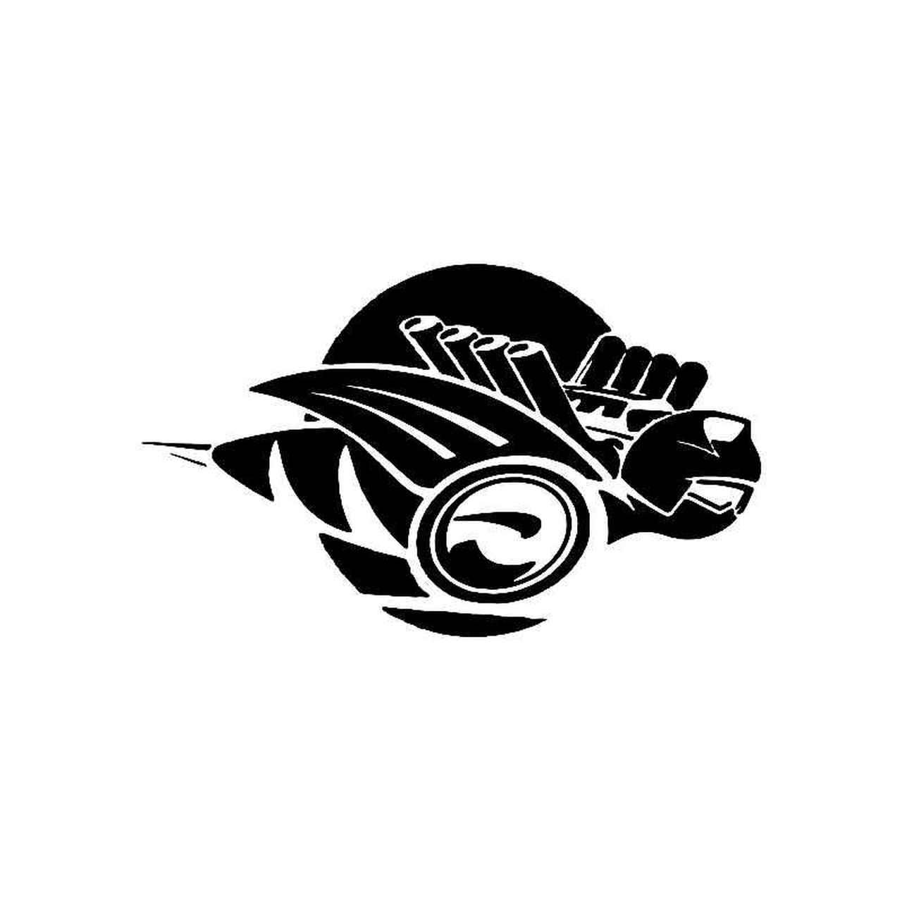 Dodge Rumble Bee Logo Jdm Decal.