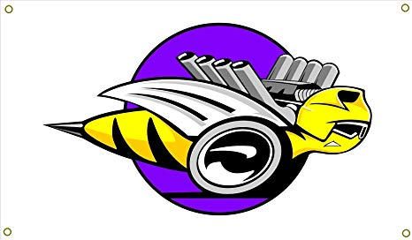 Amazon.com : Dodge Rumble Bee Garage Banner Man Cave Banner.