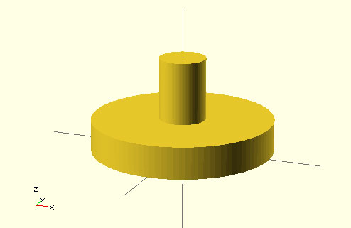 OpenSCAD project: Replacement analog sticks.
