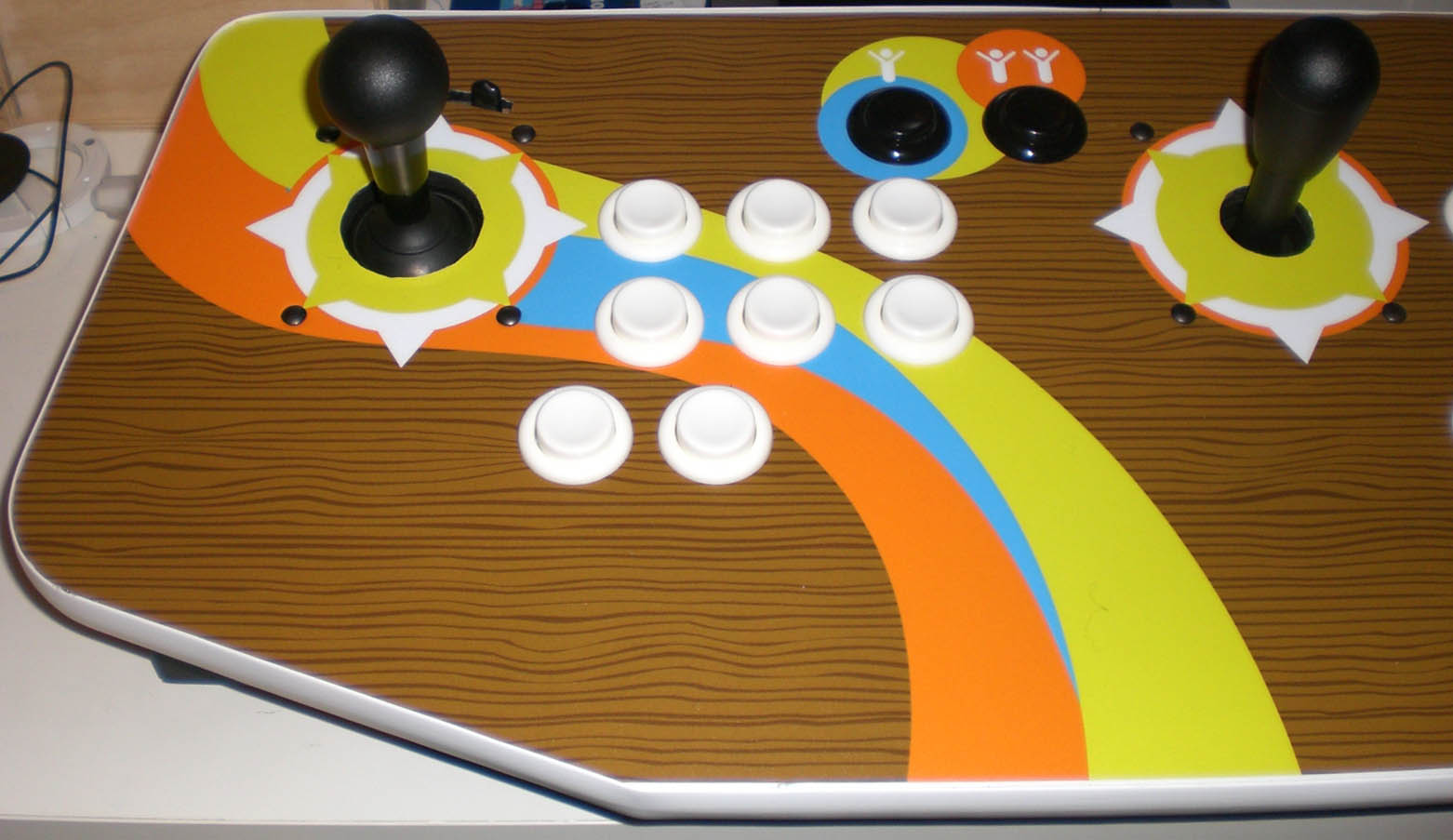 MAME: how to do with games that need special controls?.