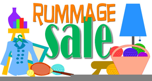 Free Clipart Rummage Sale.