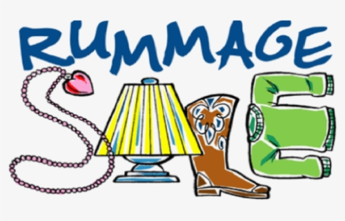 Free Rummage Sale Clip Art with No Background.