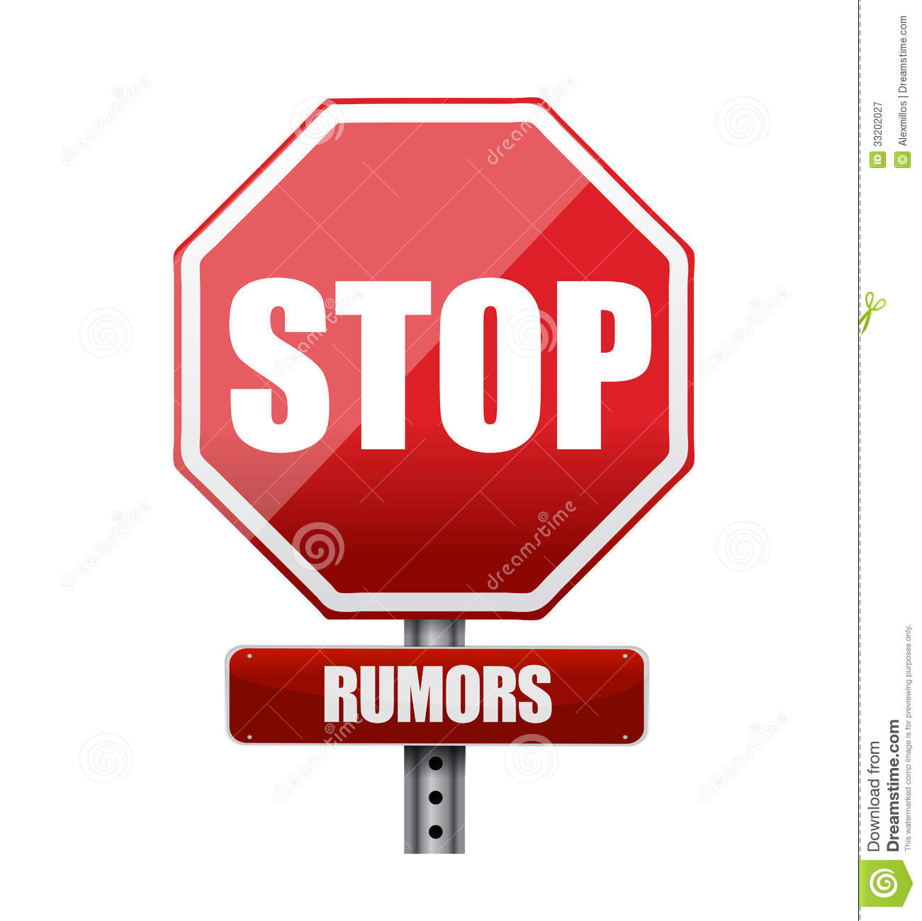 Rumor clipart.