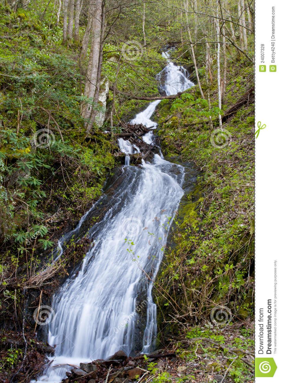 Spring Water Runoff Royalty Free Stock Photos.