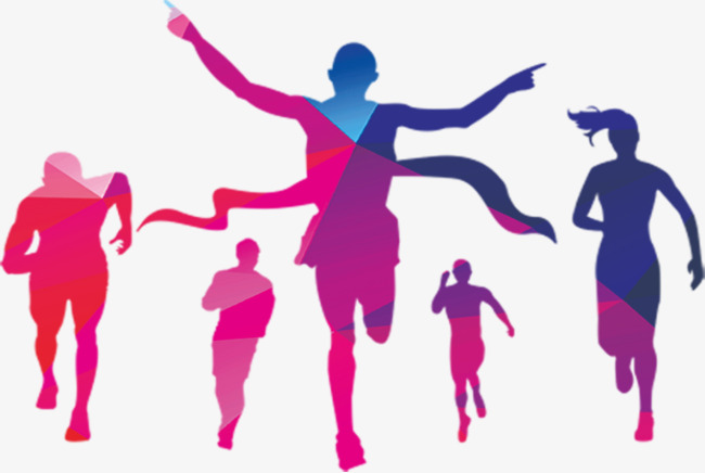 Run, Color Run, Fitness PNG Image And Cl #51314.