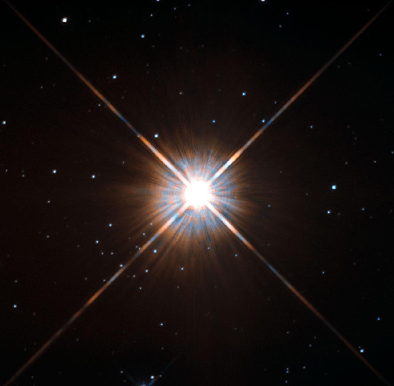 Proxima Centauri: Hubble Captures Sharpest.