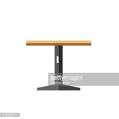 Runder Tisch Symbol premium clipart.