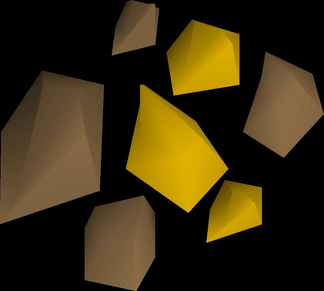 Gold ore.