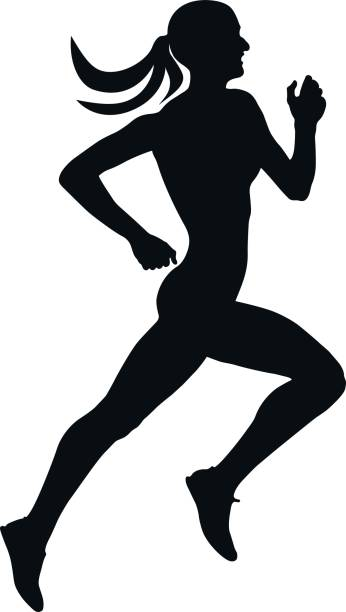 Runner Clipart.