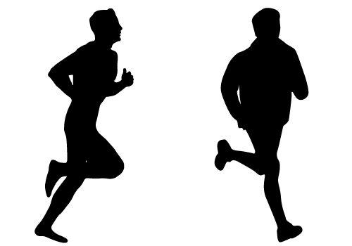 runners vector.