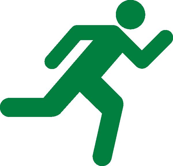 Green Runner Clip Clip Art at Clker.com.