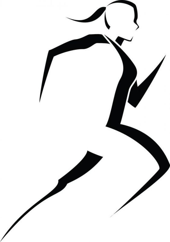 Runner Logo Clip Art.