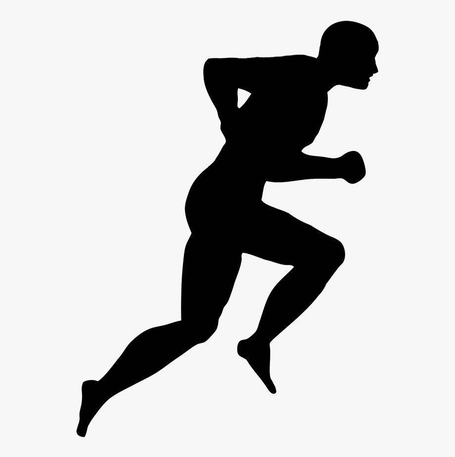 Running Man Silhouette.
