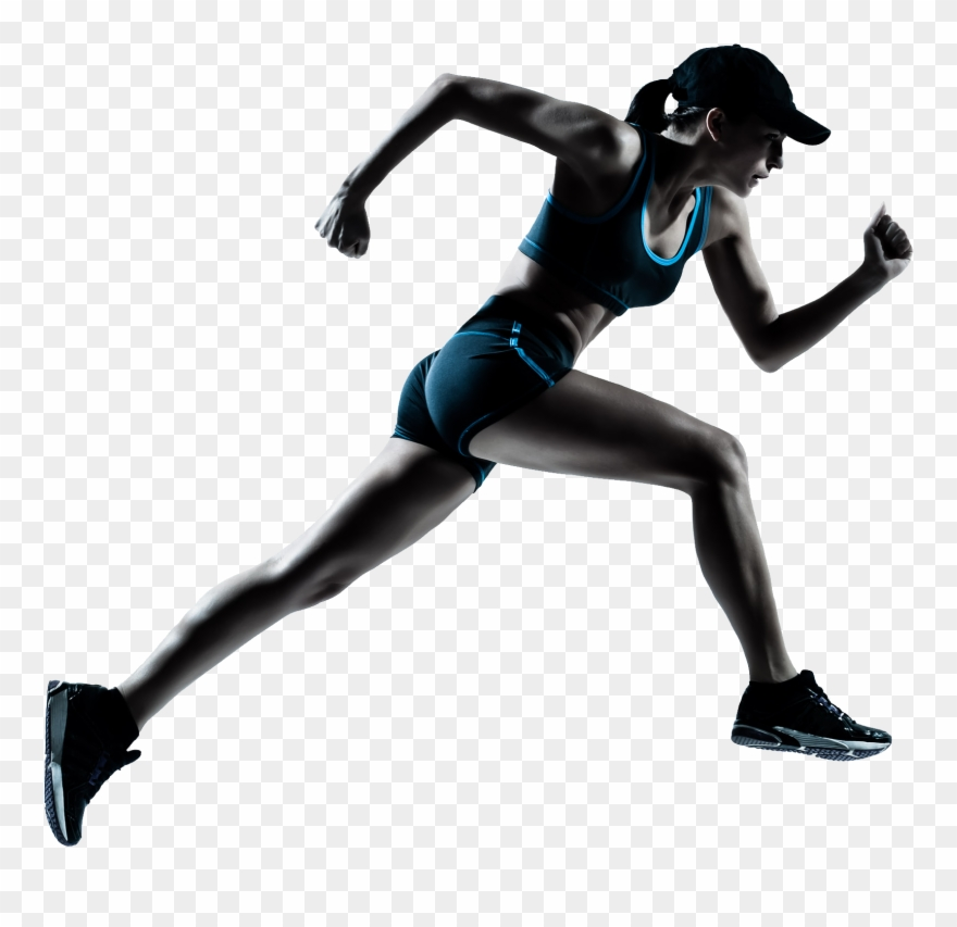 Runner Clipart Transparent Background.