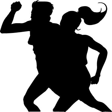runners silhouette clip art.