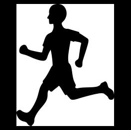 Runner Silhouette FREE SVG.