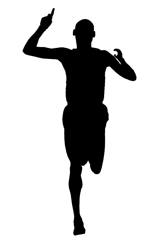 Runner Silhouette Vector at GetDrawings.com.