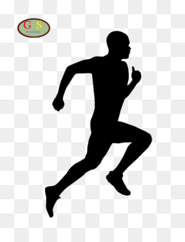 Runner Silhouette PNG and Runner Silhouette Transparent.