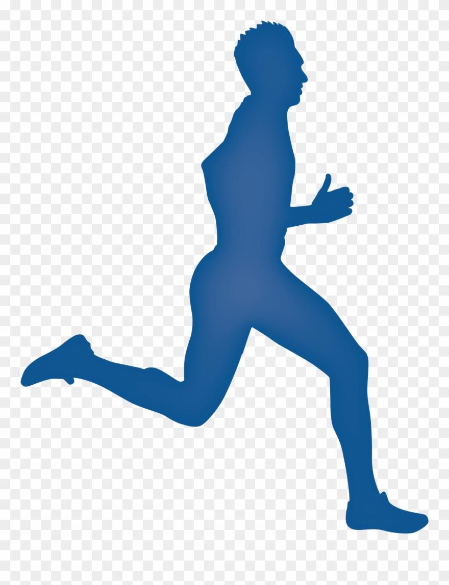 Legs Clipart Running Man.