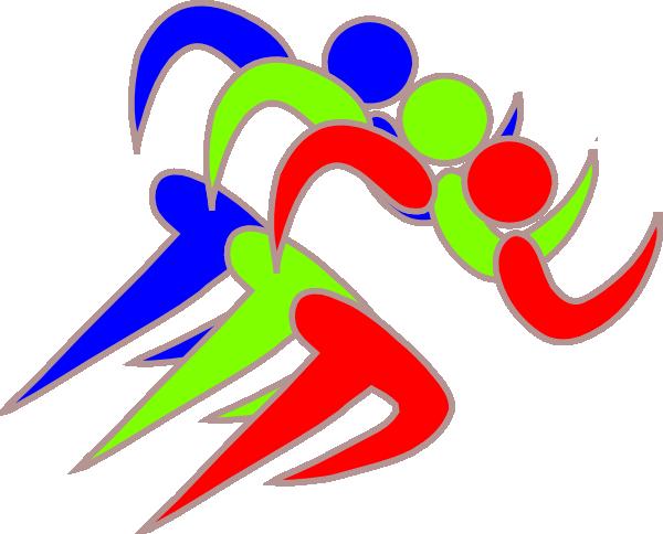 Runners Clipart.
