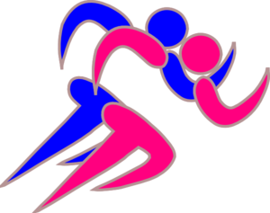 Girl And Boy Runners Clip Art at Clker.com.