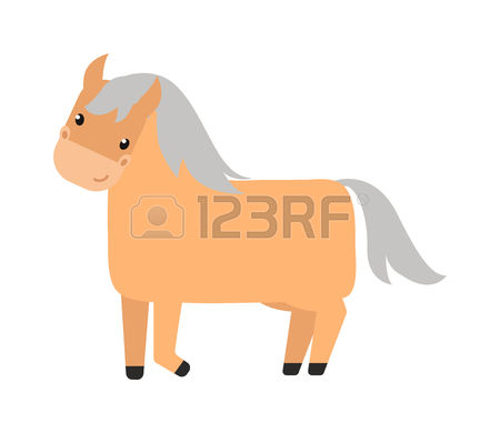 3,669 Cartoon Pony Stock Vector Illustration And Royalty Free.