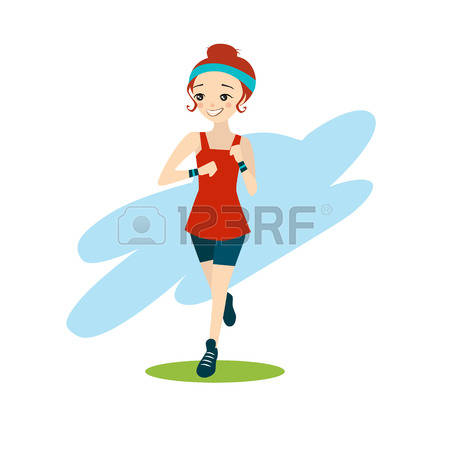 24,971 Girl Running Cliparts, Stock Vector And Royalty Free Girl.