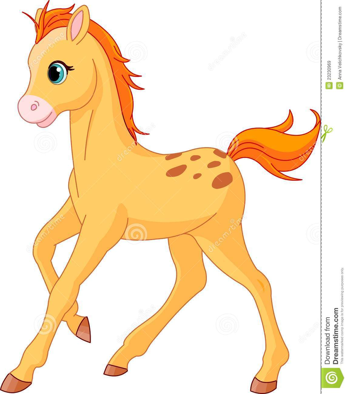 Beautiful clipart of horses.