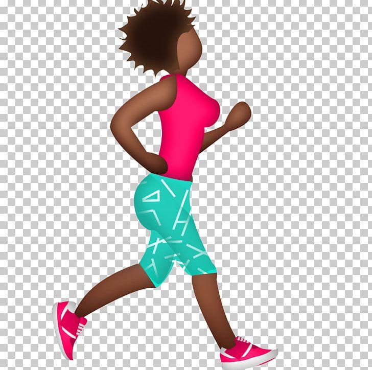 Running Emoji Marathon Training Exercise PNG, Clipart.