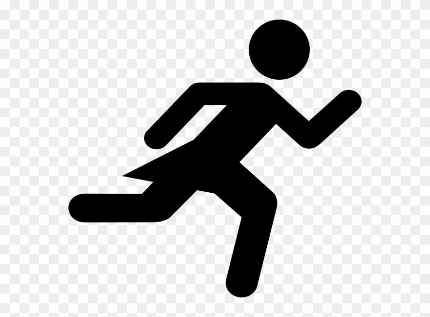 Running Woman Stick Figure Clipart (#36207).