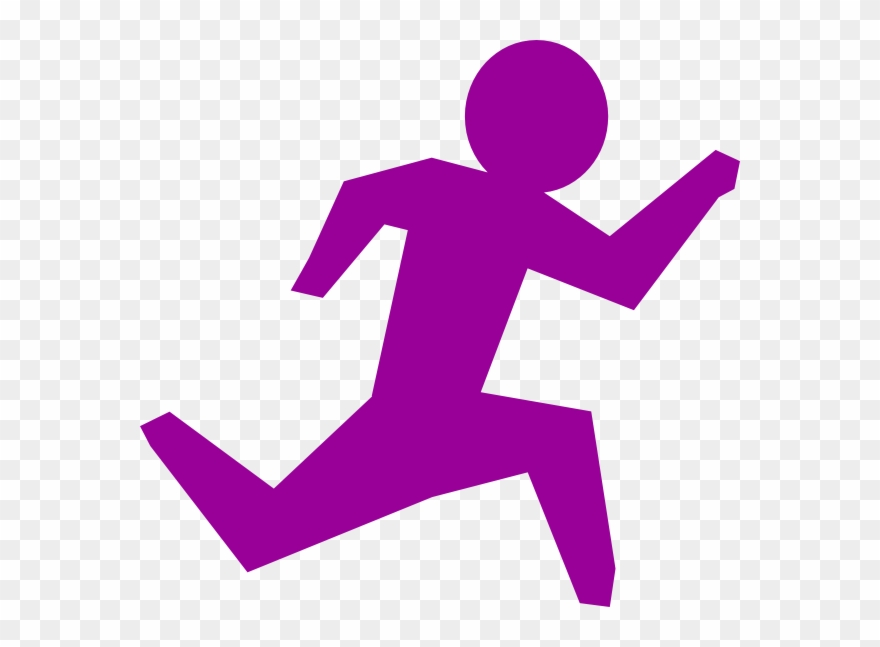 Running Stick Figure Png Clipart (#36180).