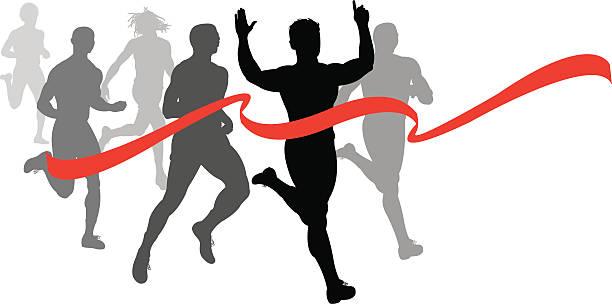 Running Race Clip Art, Vector Images & Illustrations.