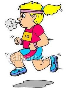 Running Girl Clipart Free.