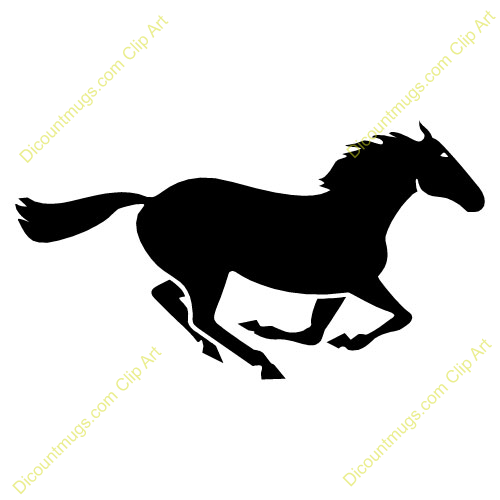 48+ Running Horse Clip Art.