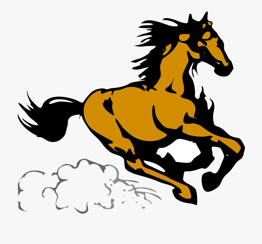 Running Horse Clipart Running Horse 4 Clip Art At Clker.