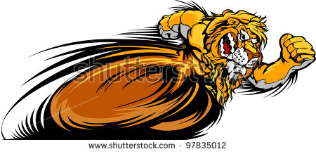 Lion Running Stock Images, Royalty.