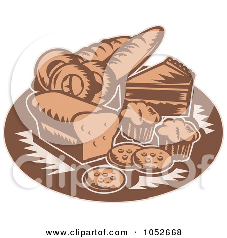 Royalty Free Pastry Illustrations by patrimonio Page 1.