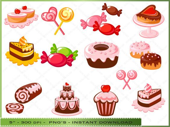 Running pastries clipart - Clipground